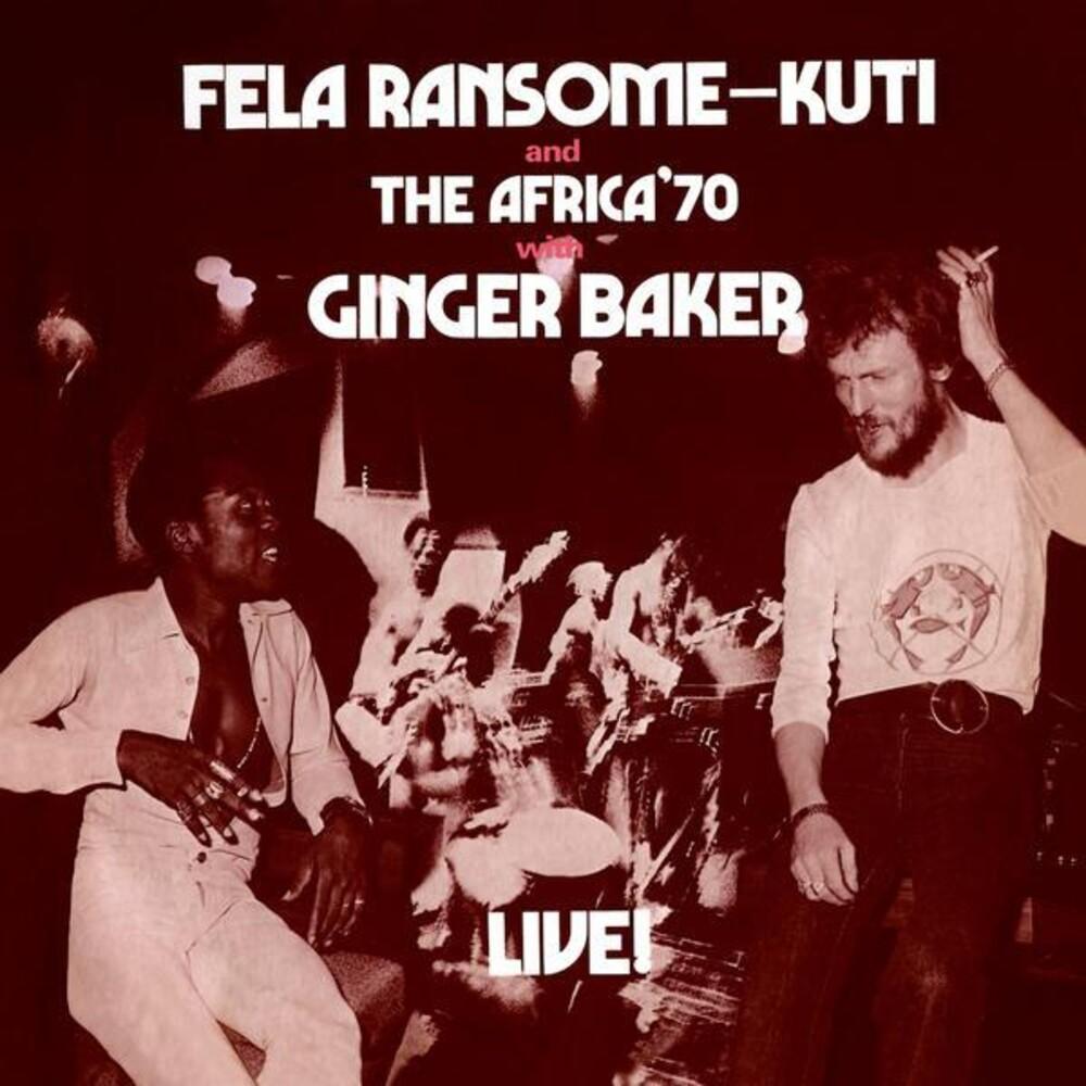 Fela Kuti - Fela Live With Ginger Baker [Colored Vinyl] (Gate) (Red)