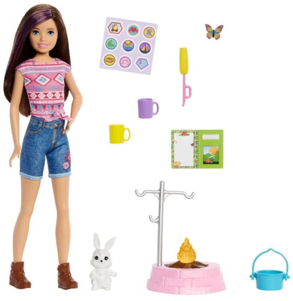 Barbie - Barbie Family Camping Sister And Pet Skipper
