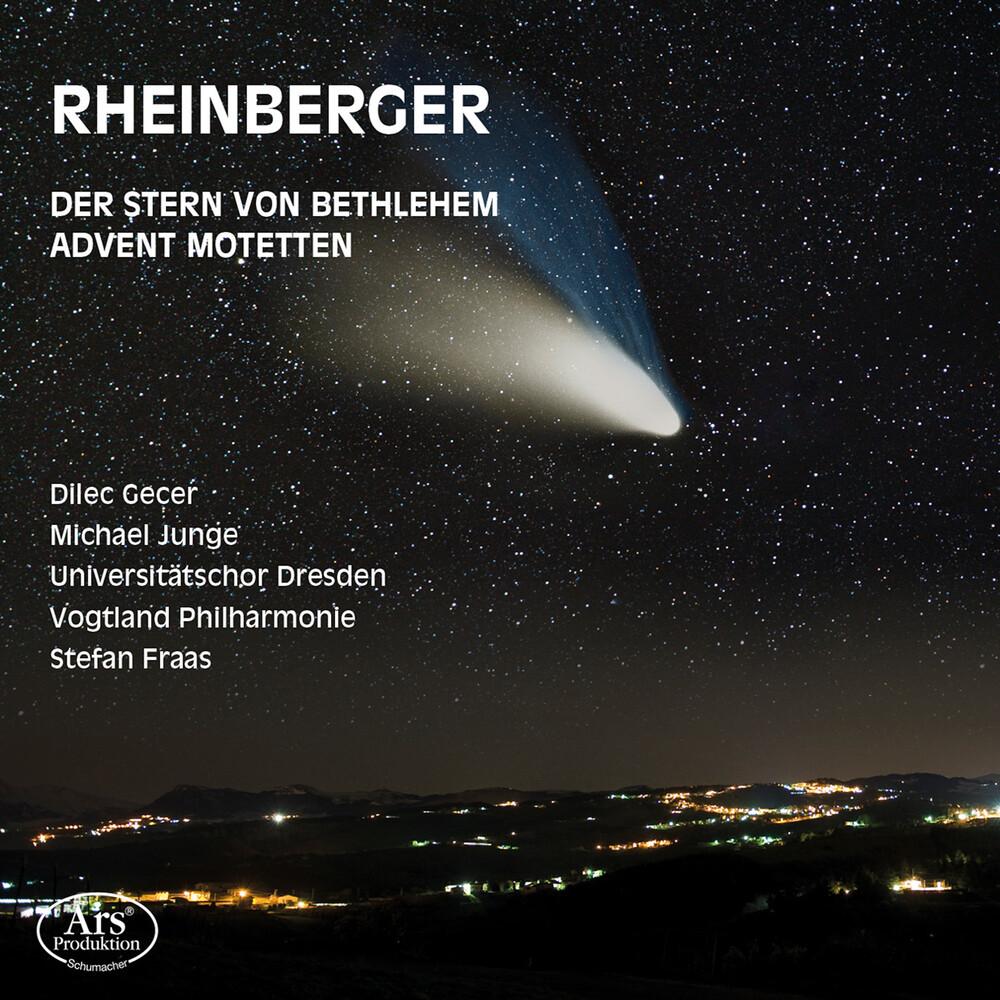 Rheinberger / Gecer / Vogtland Philharmonie - Der Stern Von Bethlehem 164 & Advent Motetten 176