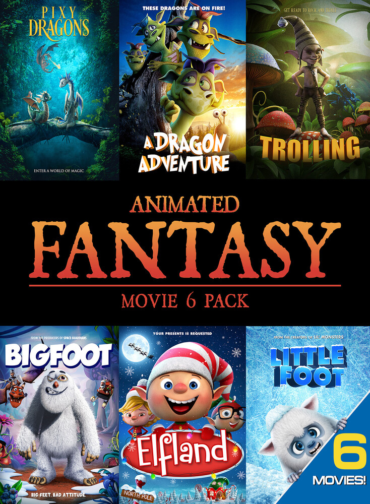 Animated Fantasy (Movie 6 Pack) - Animated Fantasy (Movie 6 Pack)