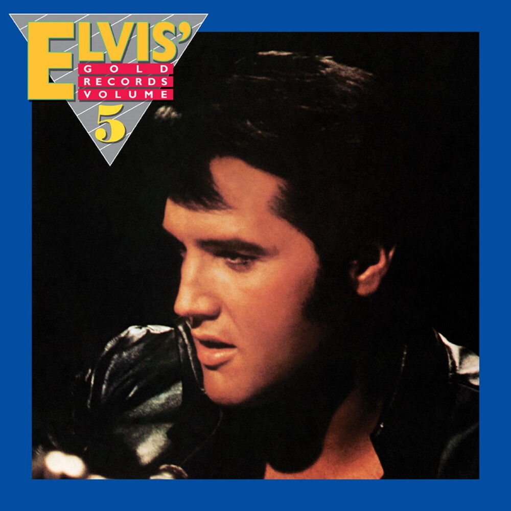 Elvis Presley - Elvis' Gold Records Volume 5 [Limited Edition Audiophile Translucent Gold LP]
