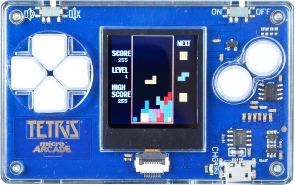- MIcroArcade Tetris