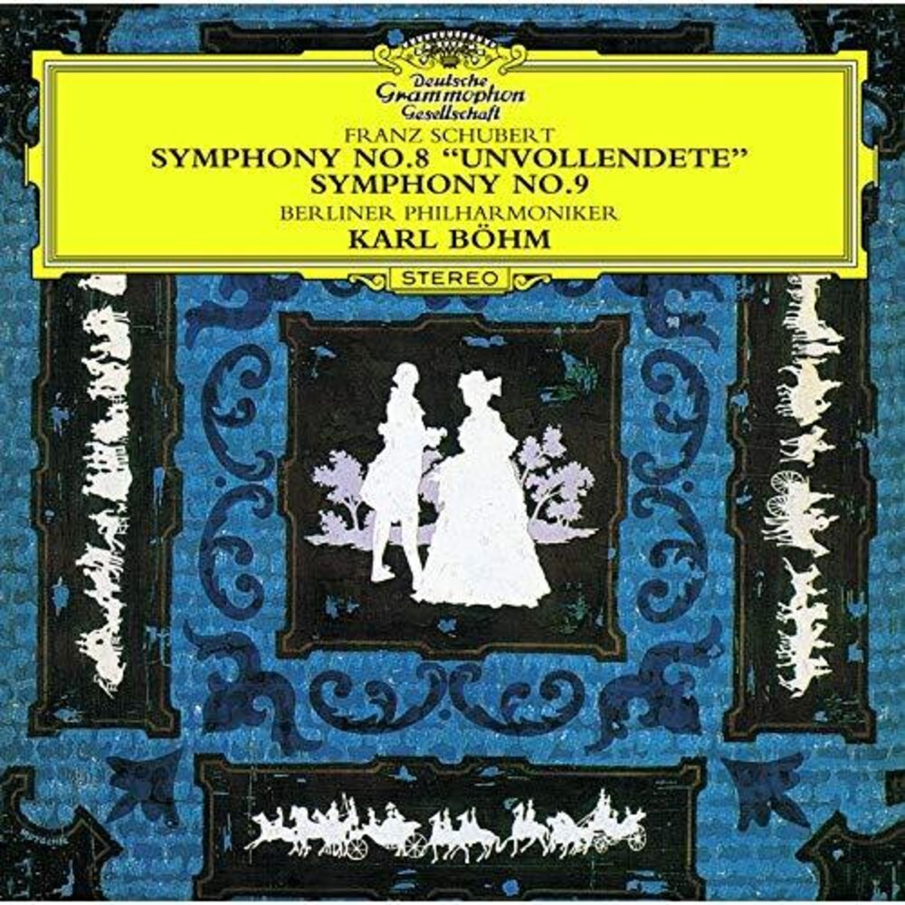 Schubert / Karl Bohm - Schubert: Symphonies 8 & 9 [Remastered] (Shm) (Jpn)