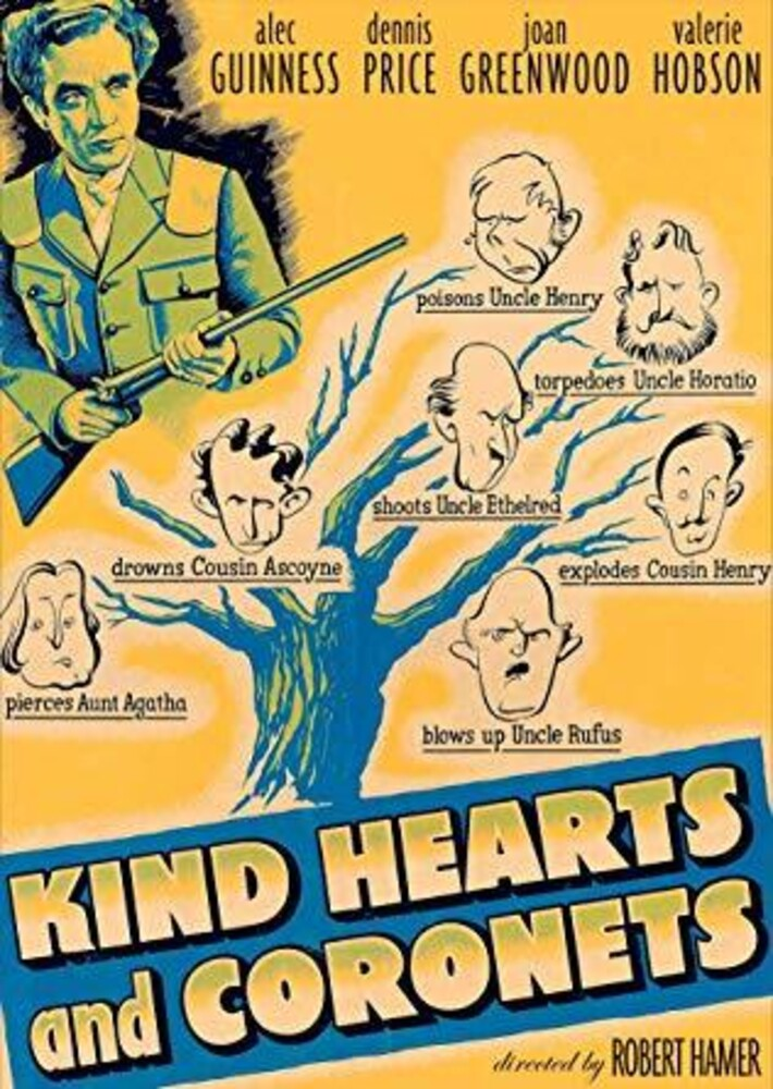 Kind Hearts & Coronets (1949) - Kind Hearts and Coronets