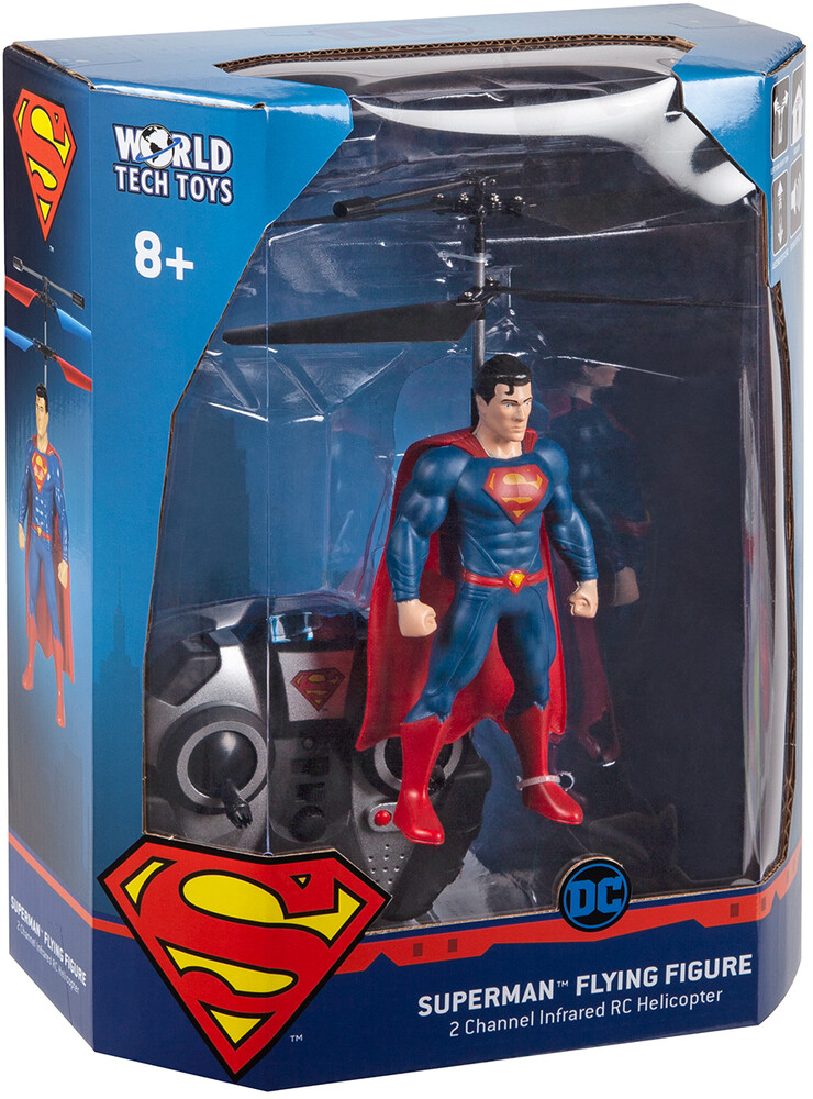 - Superman 2ch IR Flying Figure Helicopter (DC, Superman)