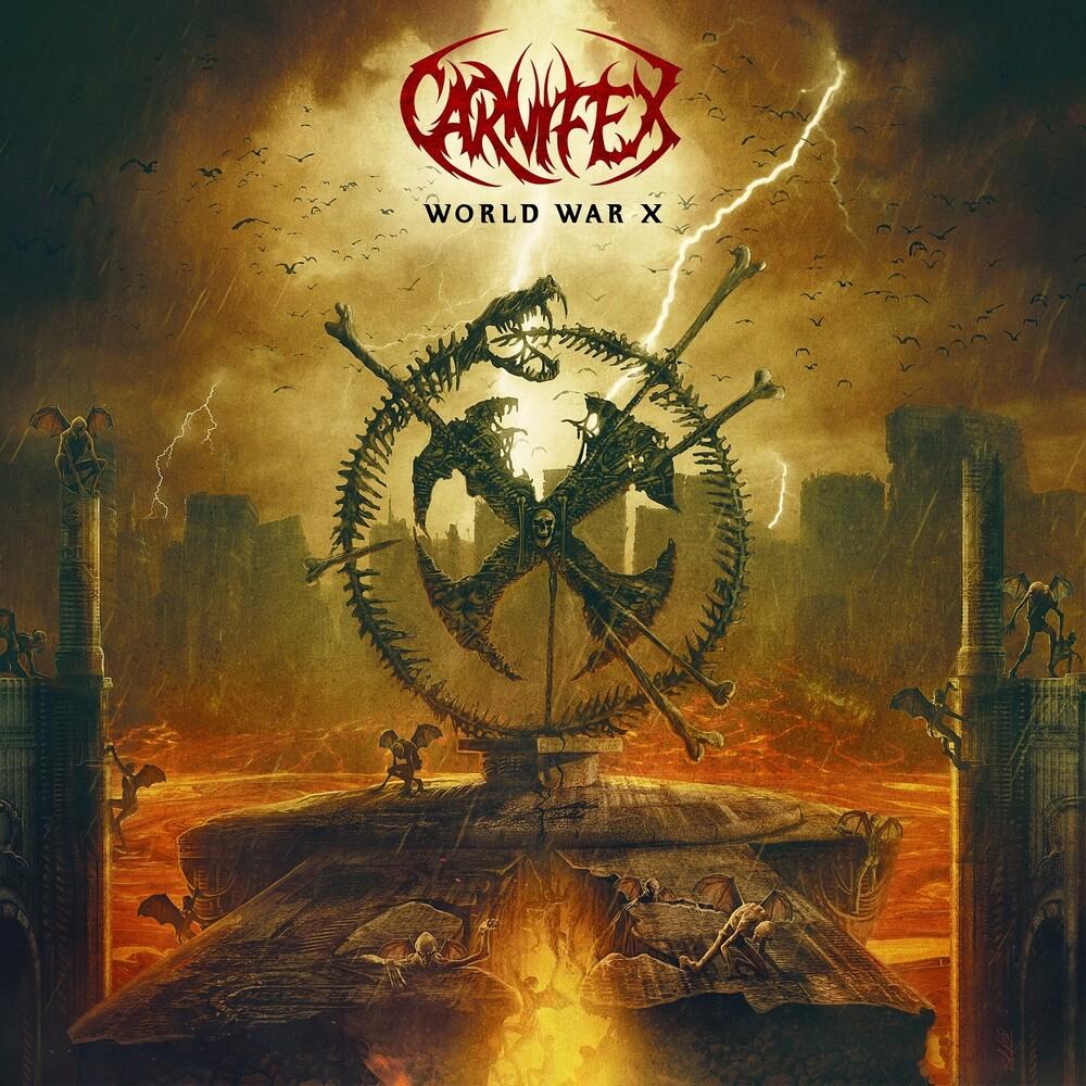 Carnifex - World War X (Orange/Black Splatter)