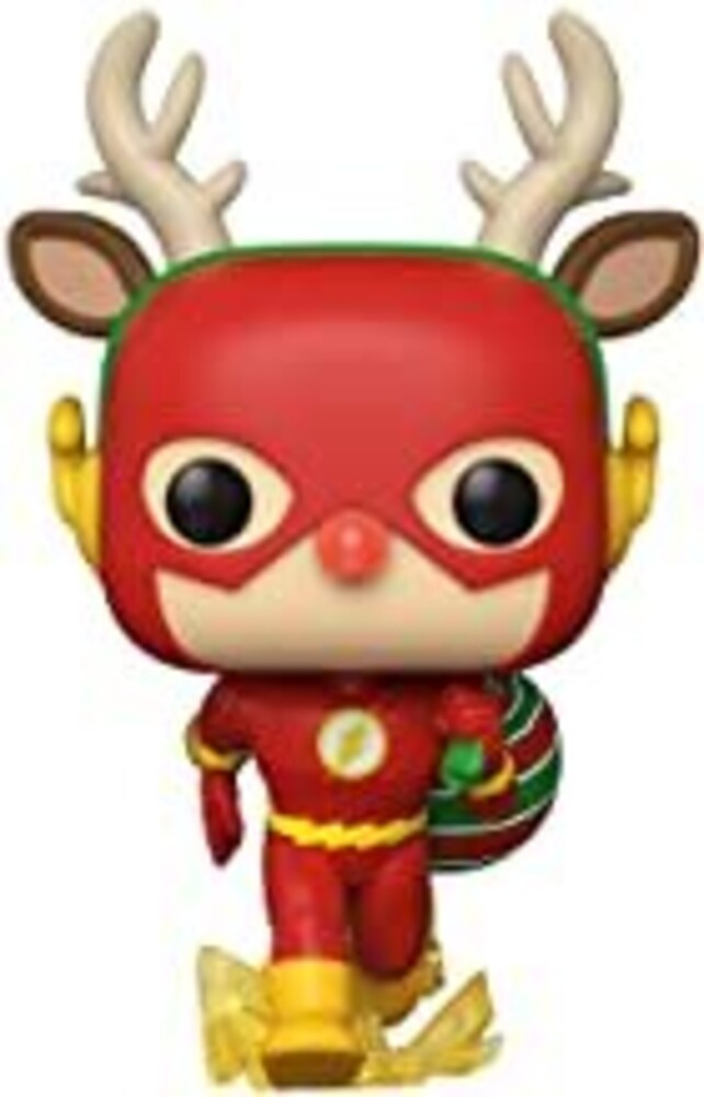 - FUNKO POP! HEROES: DC Holiday- Rudolph Flash