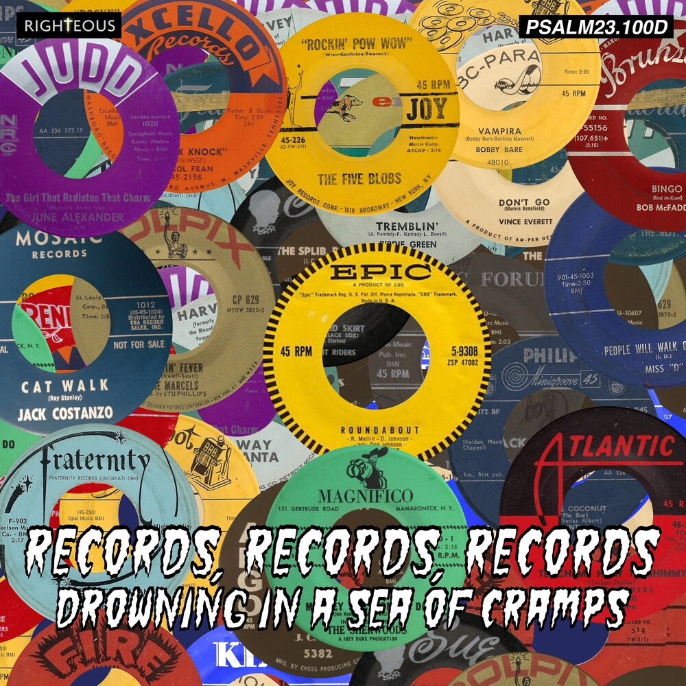 Records Records Records Drowning In A Sea Of - Records Records Records: Drowning In A Sea Of (Uk)