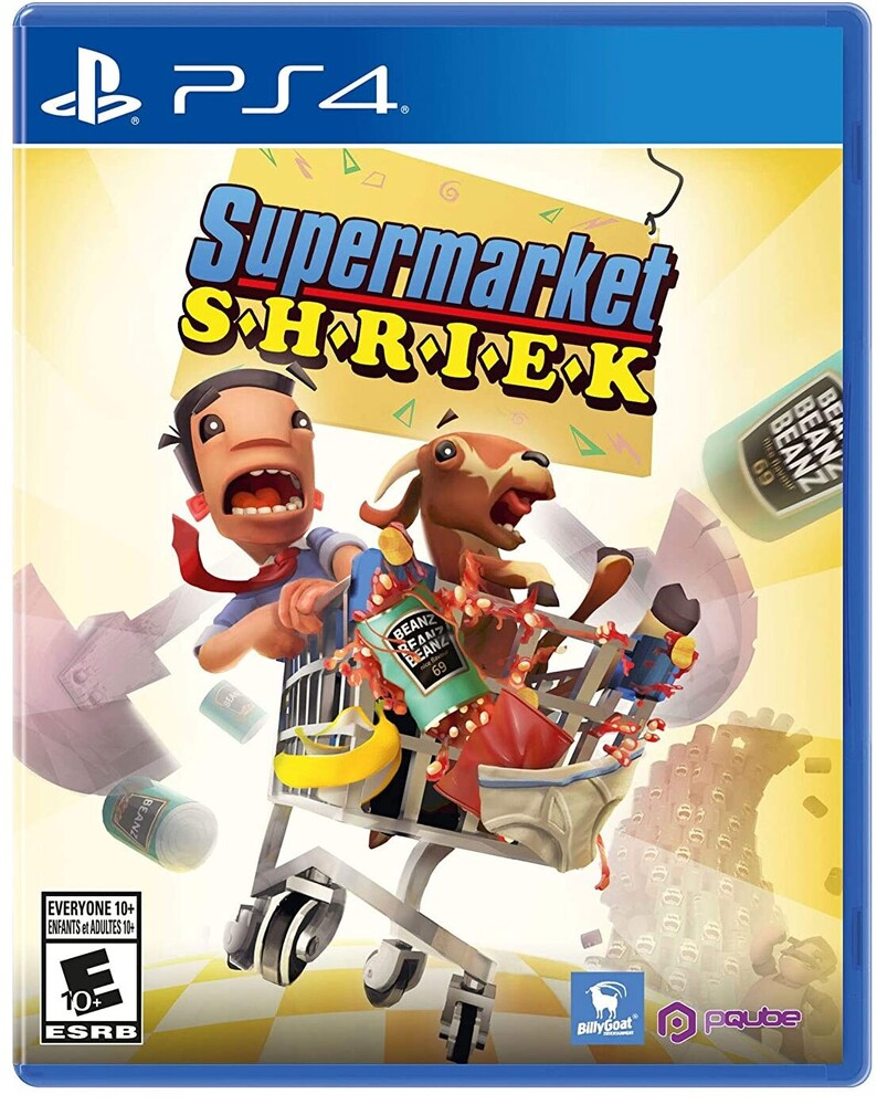 - Supermarket Shriek for PlayStation 4