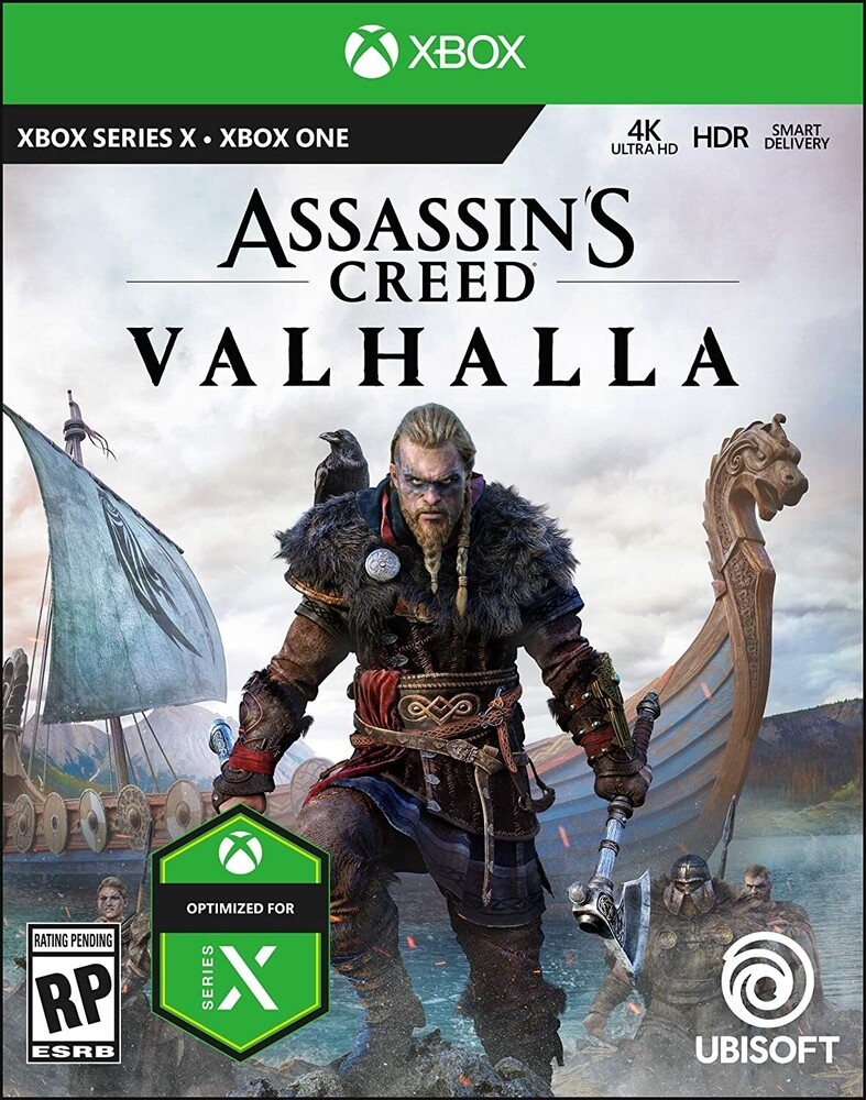- Assassin's Creed Valhalla Day One Edition for Xbox One