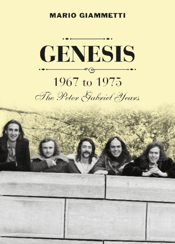 - Genesis 1967 To 1975: The Peter Gabriel Years