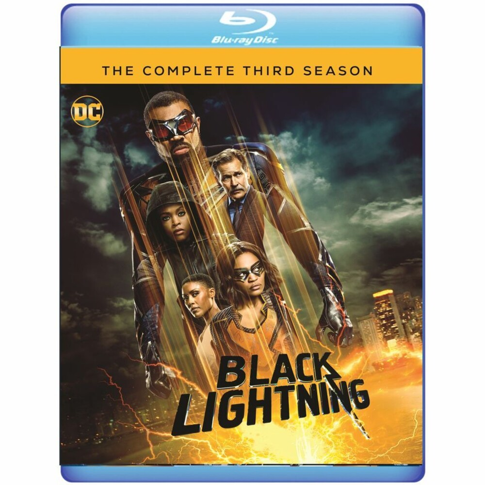 Black Lightning: Complete 3rd Season - Black Lightning: Complete 3rd Season (3pc) / (Mod)