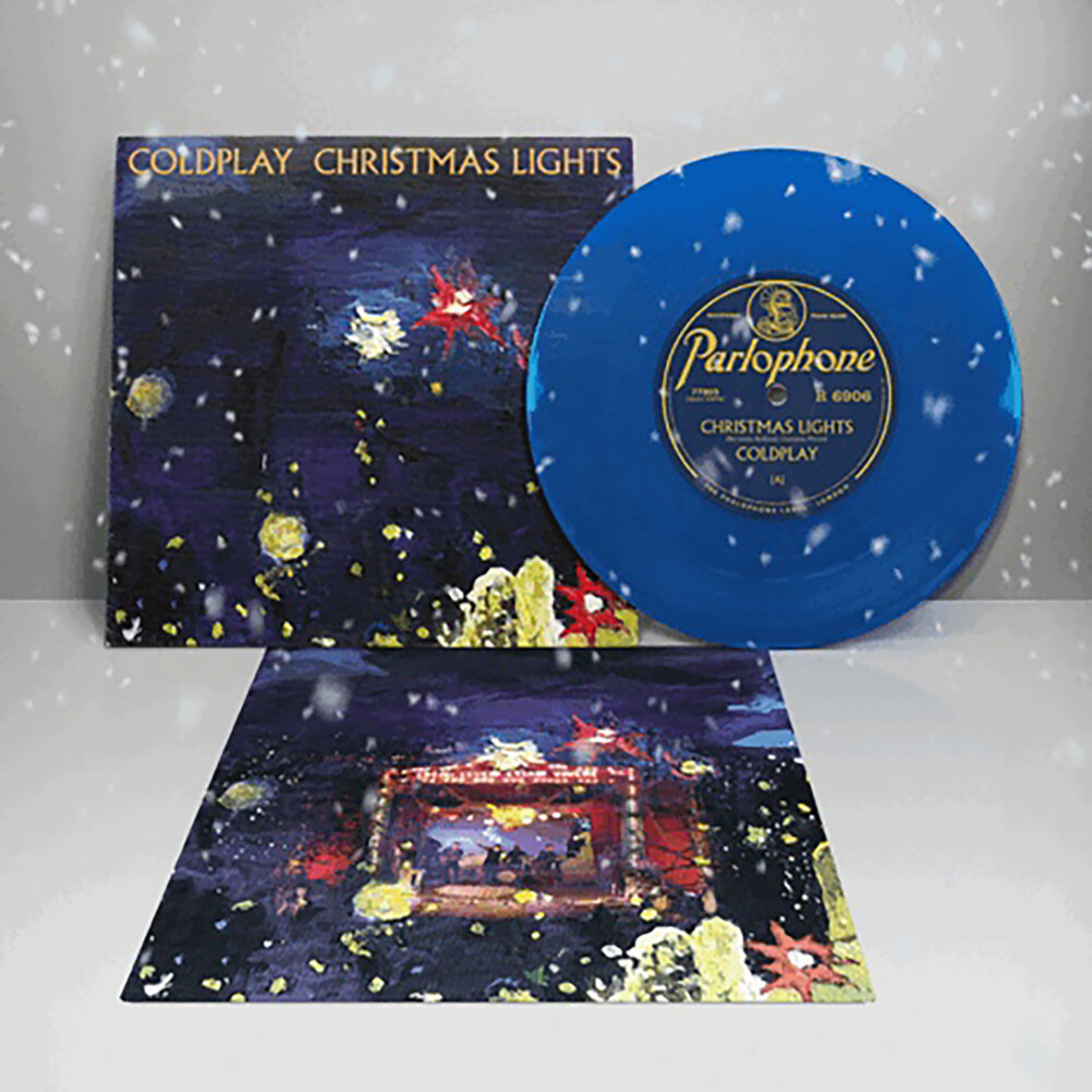 Coldplay - Christmas Lights [Limited Edition Blue 7in Vinyl]