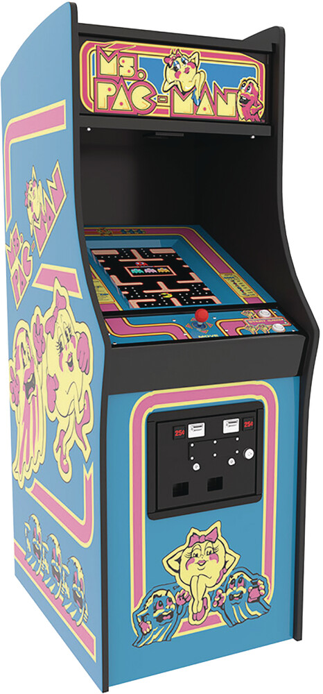 - Numskull - Quarter Arcade Ms Pac-Man Arcade Machine (Net)