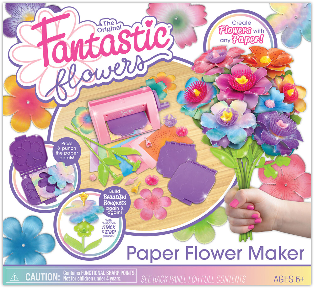 Original Fantastic Flowers Paper Flower Maker - The Original Fantastic Flowers Paper Flower Maker Create Flowers With Any Paper!