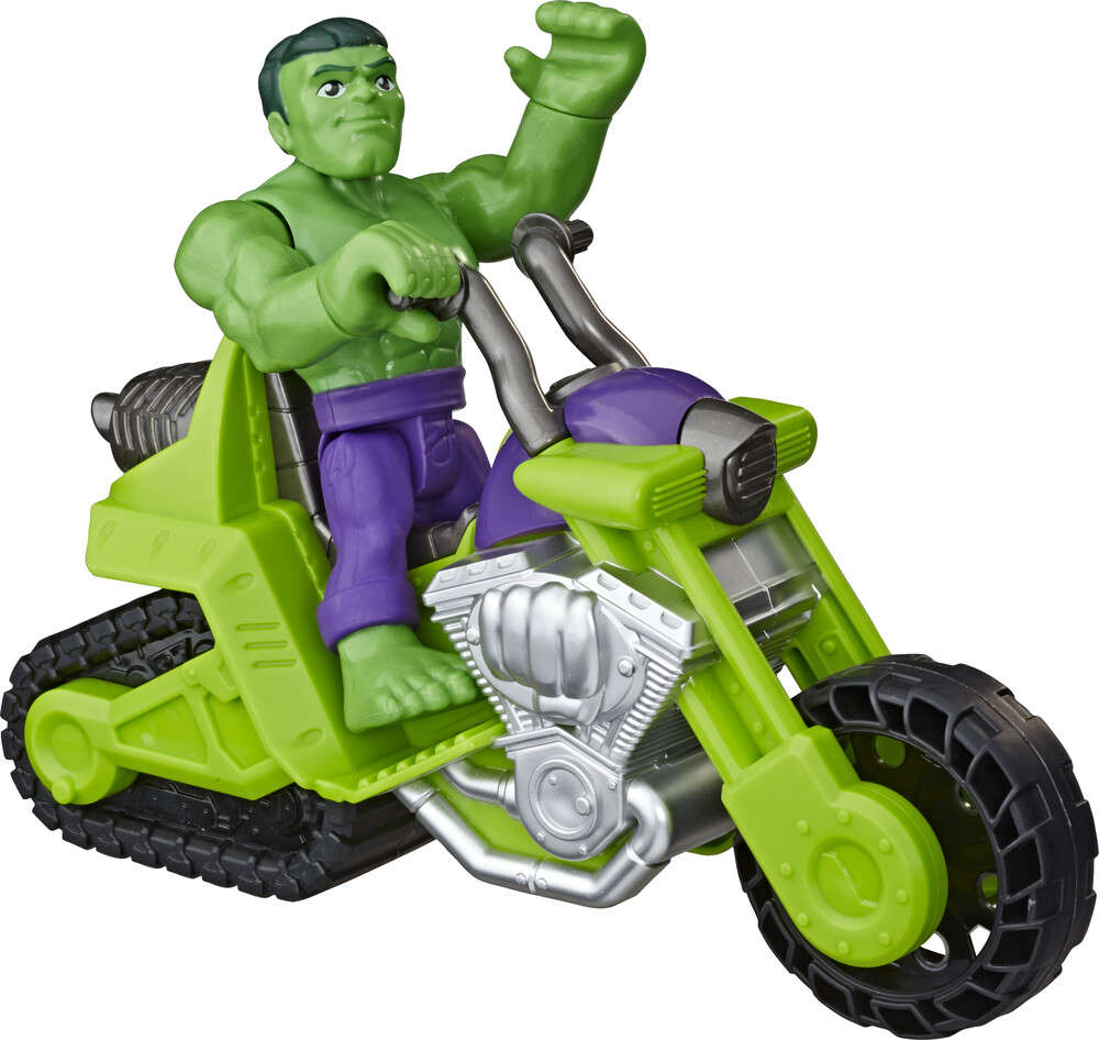 Sha Hulk Smash Tank - Hasbro Collectibles - Super Hero Adventures Hulk Smash Tank