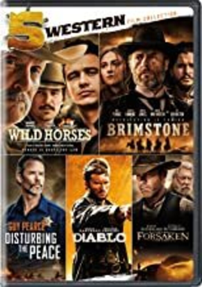 5 Western Film Collection - 5 Western Film Collection (5pc) / (Box)