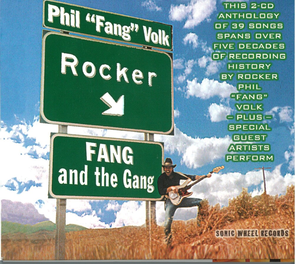 Phil Volk  Fang - Rocker / Fang & Gang (2pk) [Digipak]
