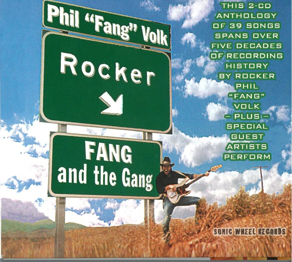 Phil Volk  Fang - Rocker / Fang & Gang (2pk) [Digipak]