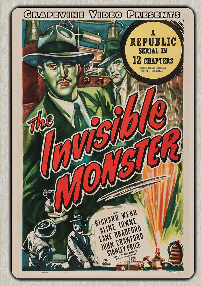 Invisible Monster (1950) - Invisible Monster (1950) (2pc) / (Mod)