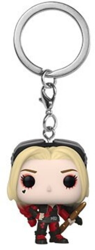 - FUNKO POP! KEYCHAIN: The Suicide Squad- Harley Quinn (Bodysuit)