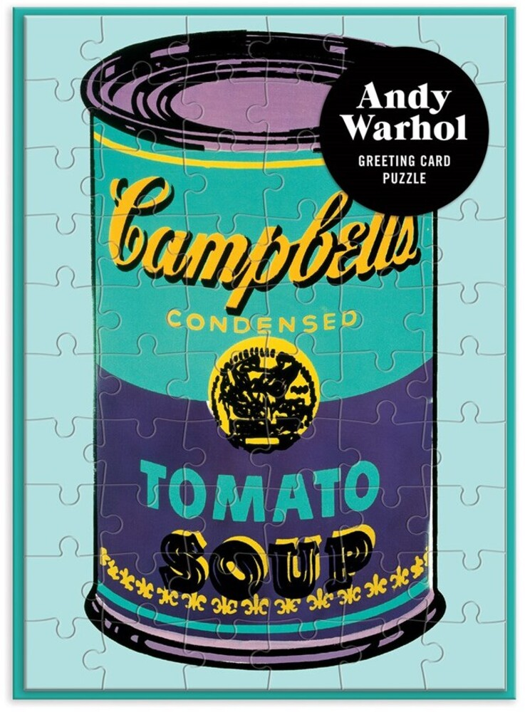 - Andy Warhol Soup Can Greeting Card 60 Piece Puzzle