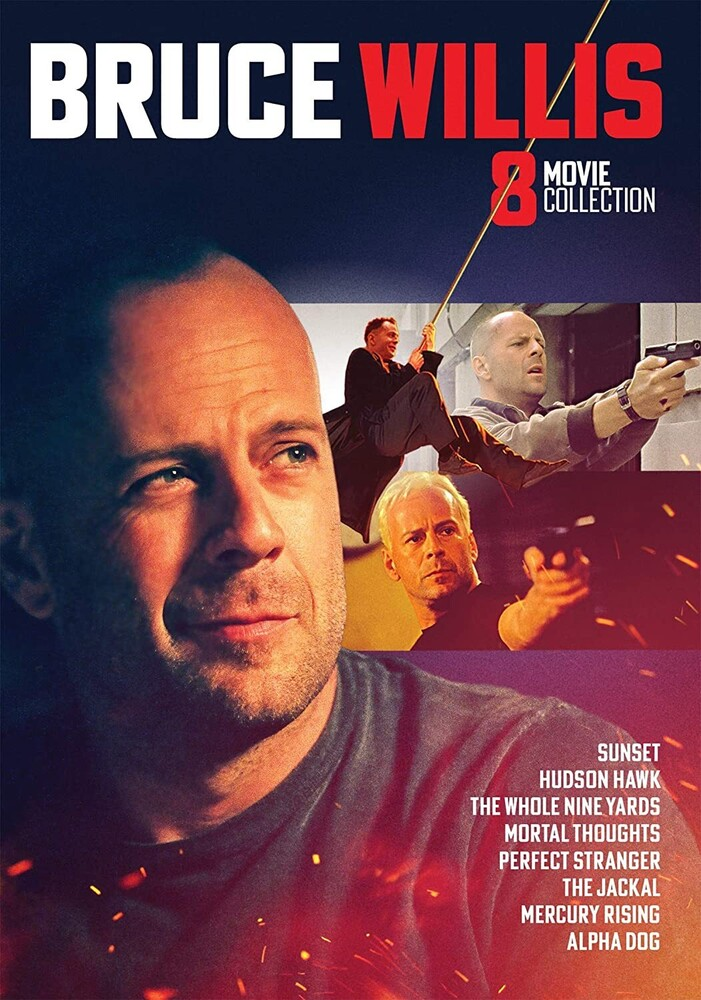 - Bruce Willis Collection - 8 Movie Set Dvd (3pc)