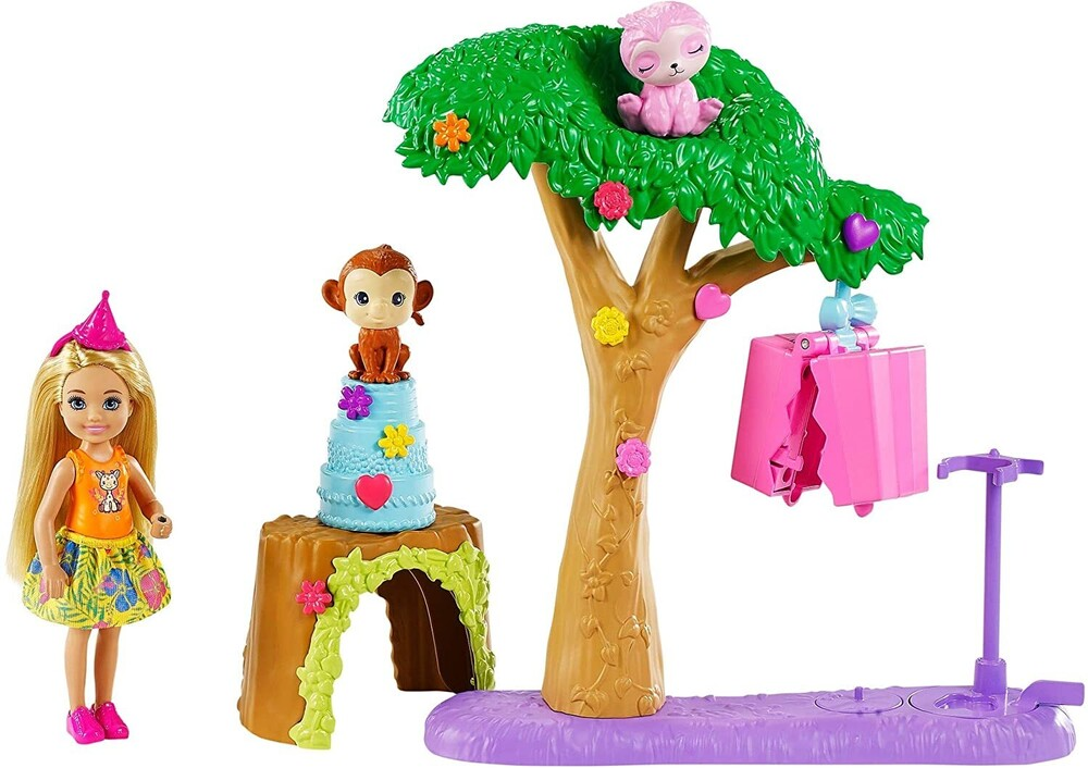 - Mattel - Barbie Chelsea The Lost Birthday Pinata Party Fun Surprise Playset