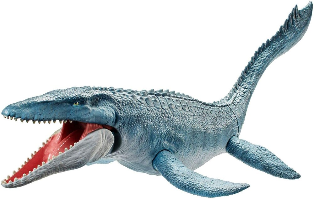 - Mattel - Jurassic World Real Feel Mosasaurus