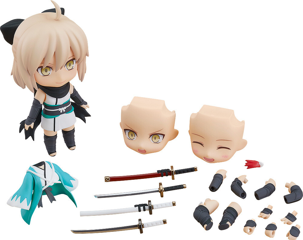 - Fate Grand Order Saber Okita Souji Nendoroid Af As