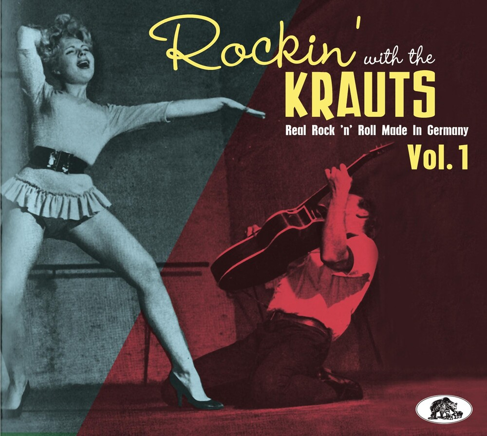 Rockin' With The Krauts: Real Rock 'n' Roll / Var - Rockin' With The Krauts: Real Rock 'n' Roll / Var
