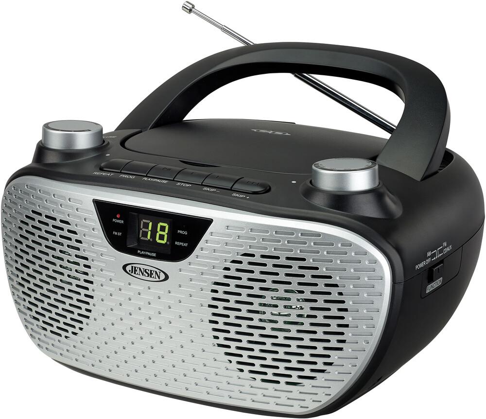 - Jensen Cd485bk Bmbx Cd Am/Fm Stereo Radio (Black)