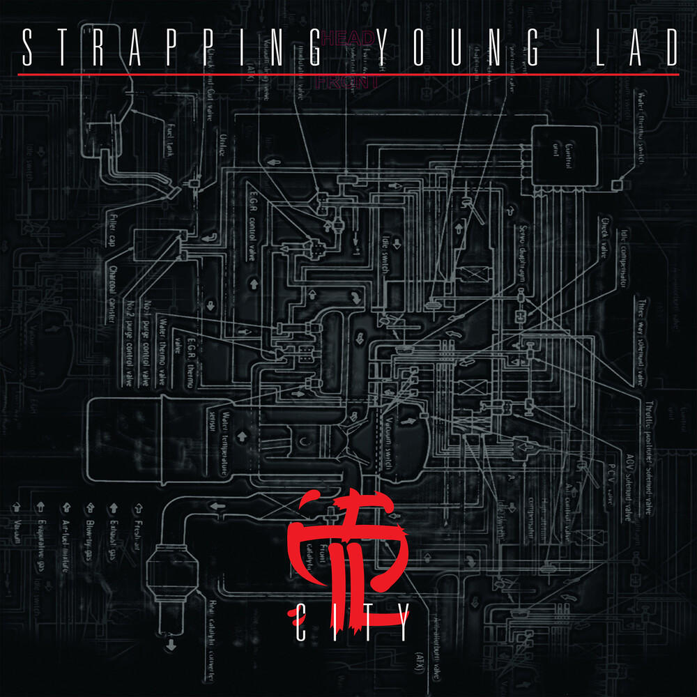 Strapping Young Lad - City (Bonus Tracks) [Colored Vinyl] [Limited Edition] (Slv)