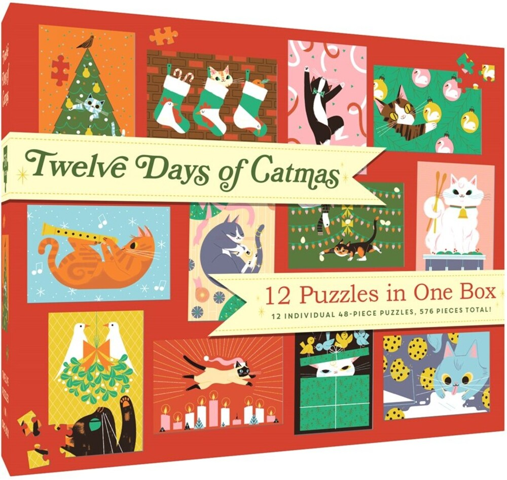 - Twelve Days Of Catmas (Cal) (Puzz)