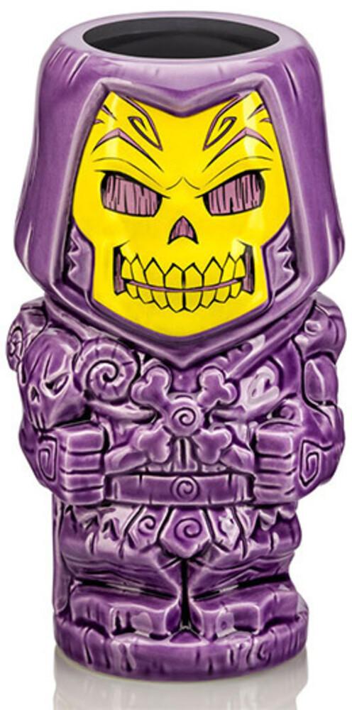 - Sdcc 2021 Motu Skeletor Tiki Mug Purple Pearlecent