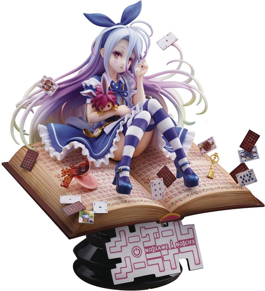 - No Game No Life Shiro Alice In Wonderland 1/7 Pvc