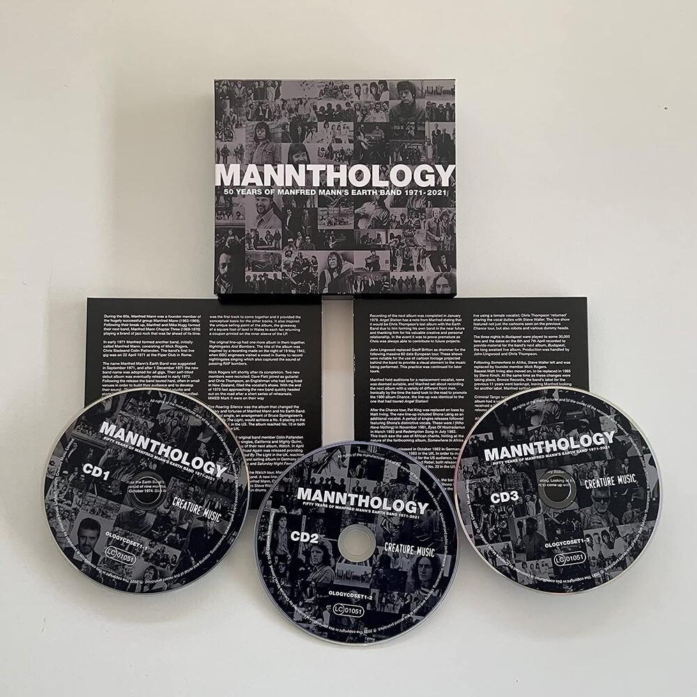 Manfred Mann's Earth Band - Mannthology