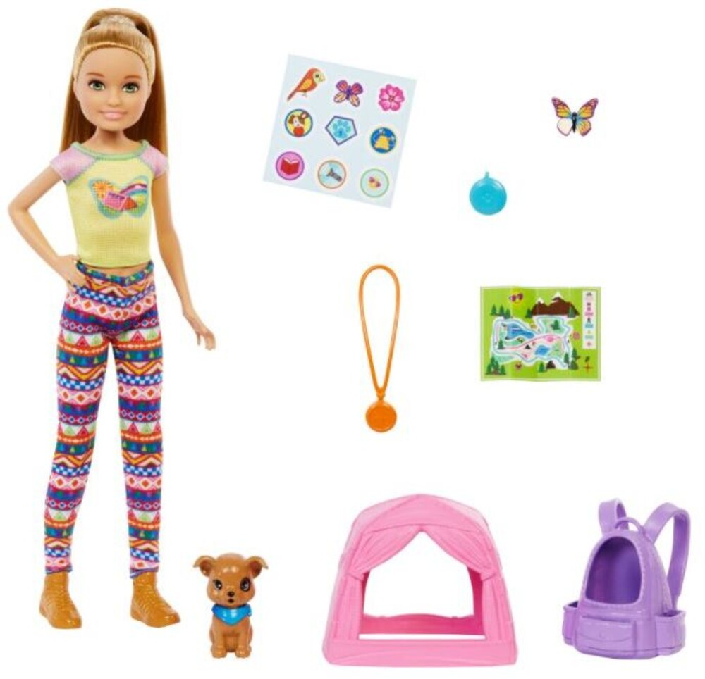 Barbie - Barbie Family Camping Sister And Pet Stacie (Papd)