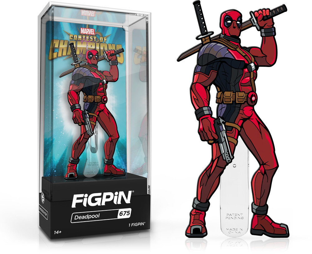 Figpin Marvel Contest of Champions Deadpool #675 - FiGPiN Marvel Contest Of Champions Deadpool #675