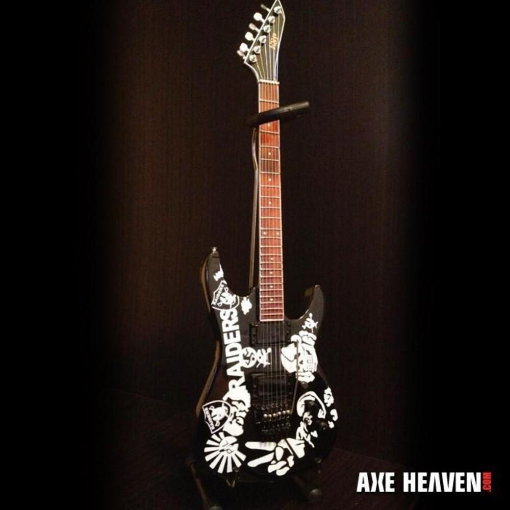 Jeff Hanneman Slayer Custom Raiders Mini Guitar - Jeff Hanneman Slayer Custom Raiders Mini Guitar