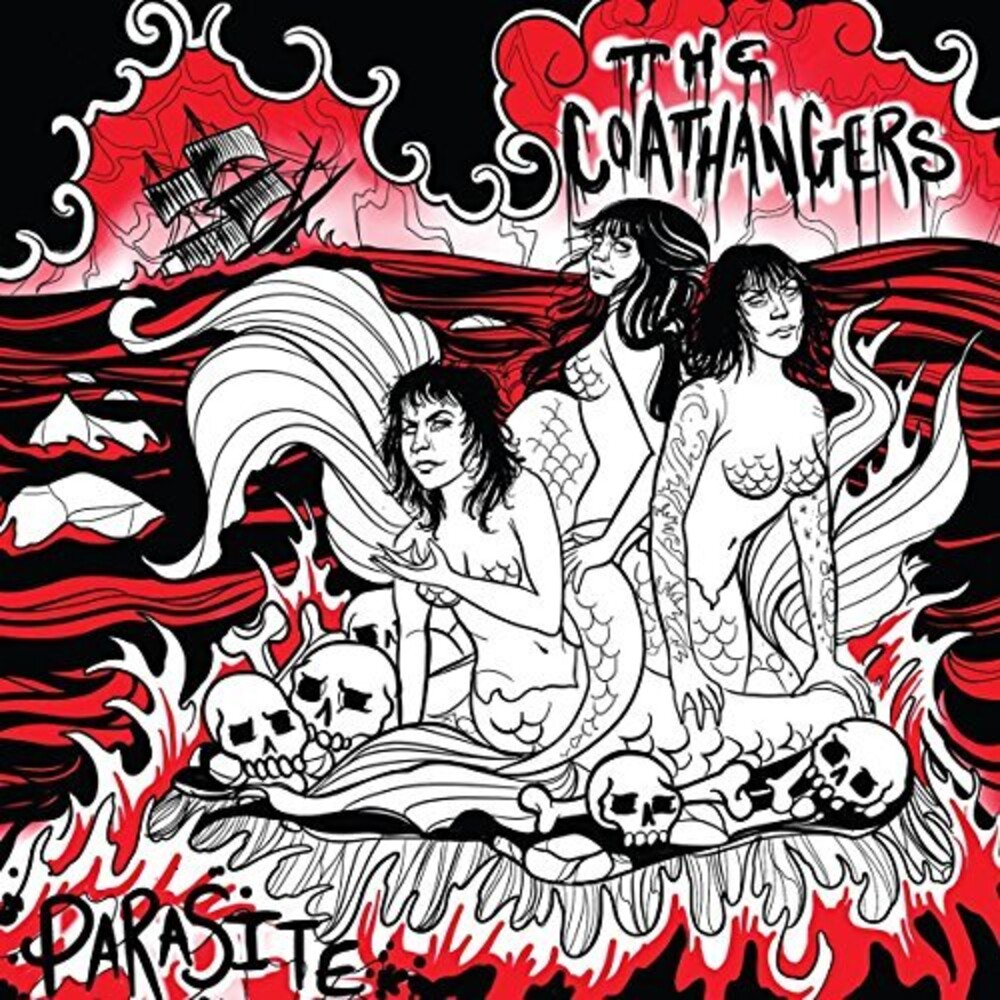The Coathangers - Parasite EP [Sea Green Vinyl w/ etching]