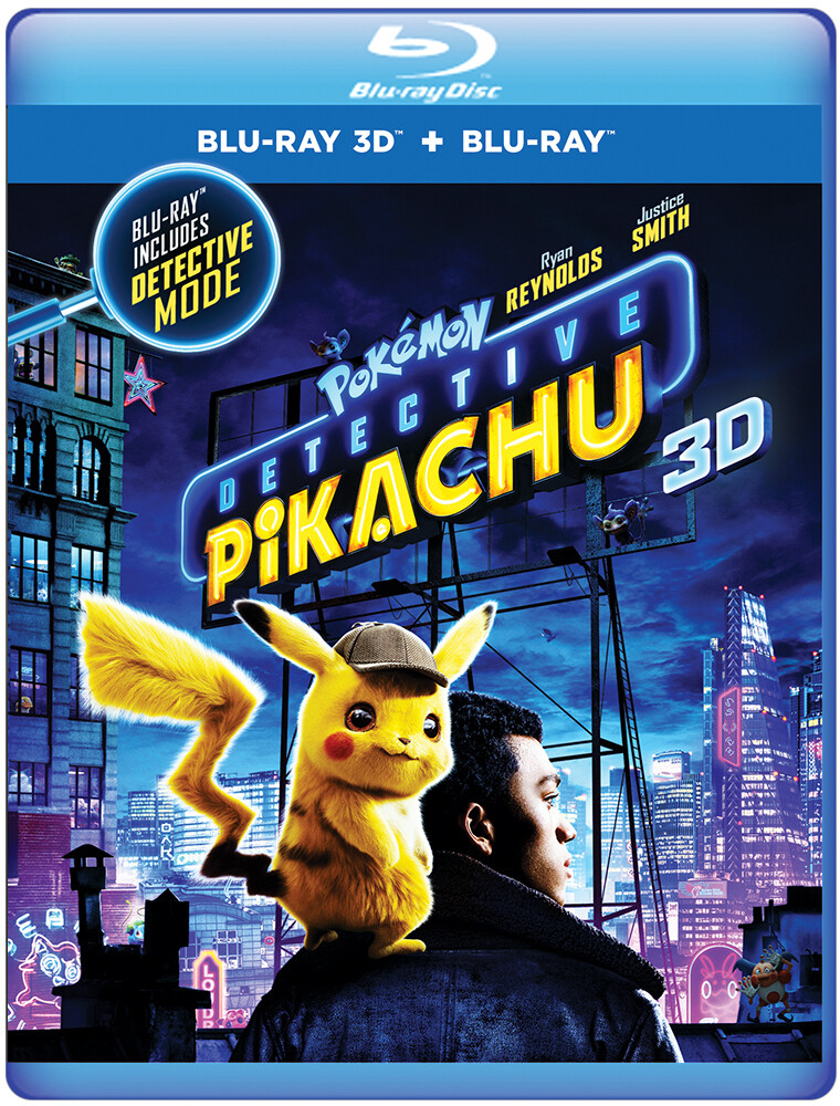 Pokemom Detective Pikachu [Movie] - Pokemon Detective Pikachu [3D]