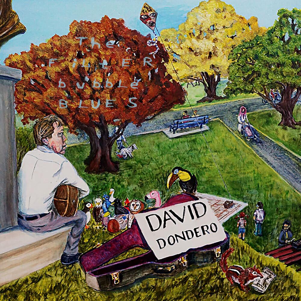 David Dondero - Filter Bubble Blues (Blk) (Dlcd)