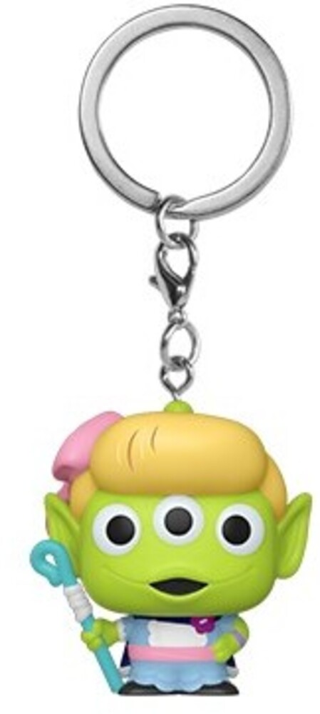 - FUNKO POP! KEYCHAIN: Pixar- Alien as Bo Peep