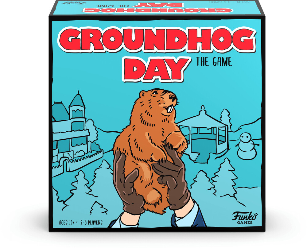 Funko Signature Games: - Groundhog Day: The Game (Funko Signature Games)