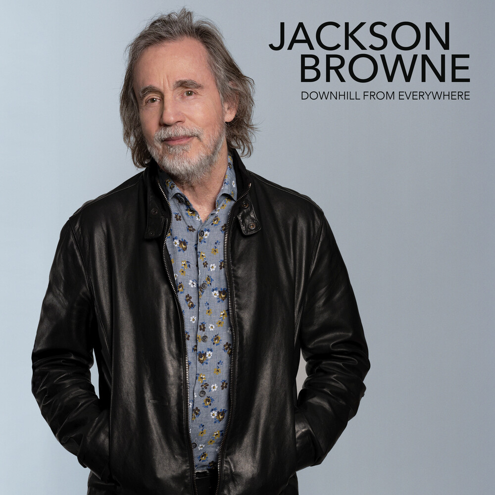 Jackson Browne - Downhill From Everywhere / Little Soon To Say