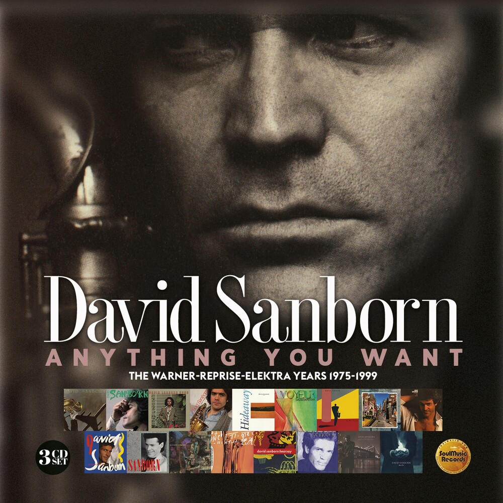 David Sanborn - Anything You Want: Warner / Reprise / Elektra (Uk)