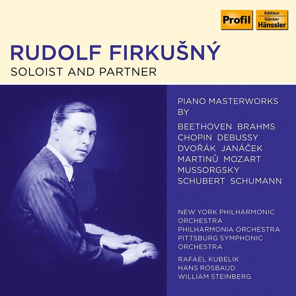 Rudolf Firkušný - Soloist & Partner / Various (Box)
