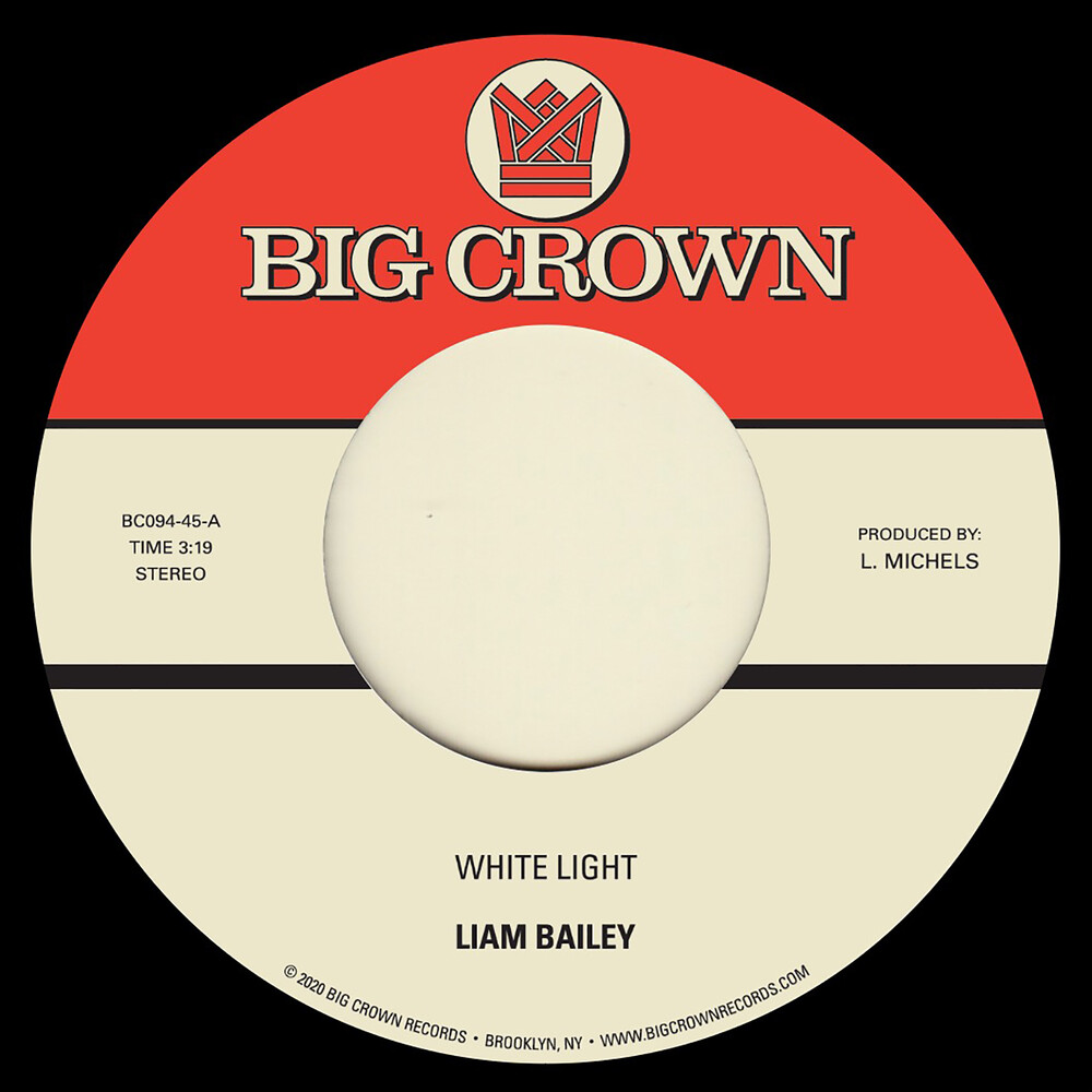 Liam Bailey - White Light B/ w Cold & Clear [Vinyl Single]