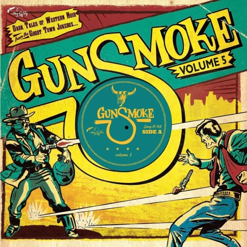Gunsmoke Volume 5 / Various 10in - Gunsmoke Volume 5 / Various (10in)